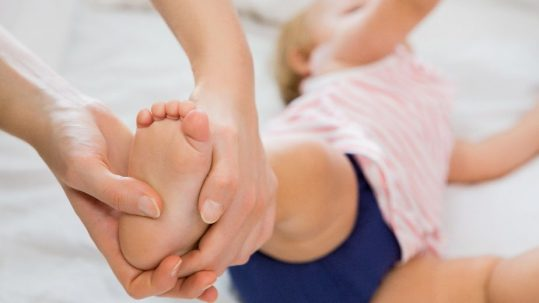 fisioterapia infantil bebes